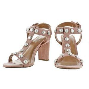 Madden Girl Women's CARLA PINK Sandals Heels